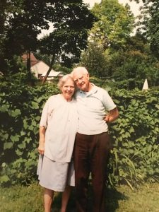Ruth and her husband Marvin